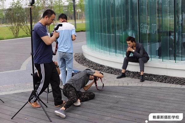鲍豪斯摄影培训学校学员真人实操外拍花絮